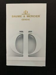 Baume And Mercier Geneve 1988 Catalog Wrist Watches Jewelry Printed In Usa
