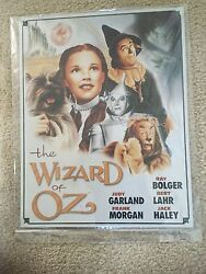 Lot Of Wizard Of Oz Collectible Vintage Tin Metal Signs 12x16 Small Canvas Lot