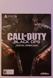 Call Of Duty Black Ops Ps3 - Digital Version