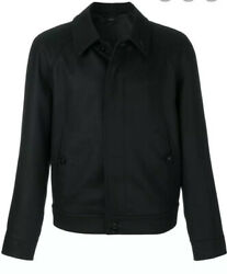 Tom Ford Wool Bomber Jacket -with Tags- Rrp4170 Aud