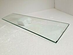 Jalousie Window Glass Panel Louvered Replacement Clear Pane Mid Century Modern