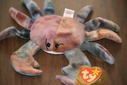 Ty Beanie Babies Claude The Crab Tie Dyed This Thing Is Cute