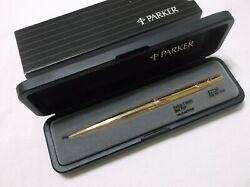 Parker Classic 12k Gold Filled Ballpoint Pen / Made In Usa