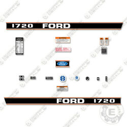 Ford 1720 Decal Kit Tractor - 7 Year 3m Vinyl Decal W/ Warning And Safety Stickers