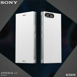 Official Genuine Sony Xz Premium Scsg10 Style Cover Stand Case - White