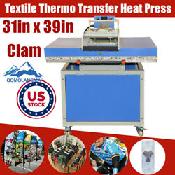 Us Stock 31 X 39in Hand Force Textile Thermo Tshirts Transfer Heat Press Machine