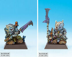 Rare Oop Confrontation Rackham Dwarf Of Mid Nor - Scourge Bearers 2