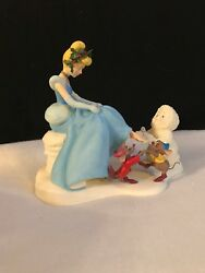 Dept 56 Snowbabies Rare If The Shoe Fits Cinderella Guest Collection