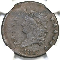 1812 Ngc Vf Details 15 Off Center Classic Head Large Cent Coin 1c