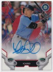 Mlb Card 2019 Ichiro Topps High Tek Autographs Red 03/10