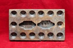 Wooden Egg Tray Game Old Vintage Indian Handmade Collectible Bf-74