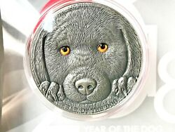 Cameroon 2018 Chinese Lunar Calendar Year Of The Dog Antique Finish Silver.