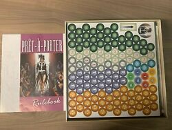Pret A Porter 2nd Edition Board Game Brand New Sealed Contents Mint