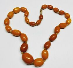 Very Old And Nice Baltic Amber Necklace