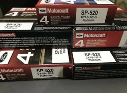 6x Genuine Motorcraft Oem Ford Platinum Spark Plugs Sp-520 . New