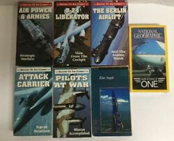 History Usaf Air Combat War Documentary Series Lot Of 8 Vhs