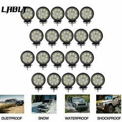 20x Led Work Light Bar Offroad Driving Lamp Suv Boat Truck 27w 540w Round Flood