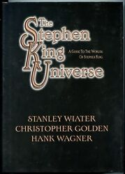 Stephen King Universe Signed,numbered And Slipcased 843/1000. First Printing