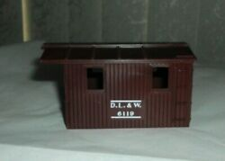 Lionel D.l.and W. 6119 Work Caboose Shell - Brown
