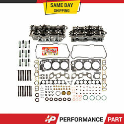 Left And Right Cylinder Head Bolts Head Gasket Set Fit 95-04 Toyota 3.4 Dohc 5vzfe