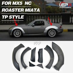 For Mazda Mx5 Nc Miata Roaster Tp Style Frp Front And Rear Fender Flares Mudguards