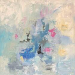 ORIGINAL LARGE ABSTRACT CONTEMPORARY MODERN ART PAINTING by SONJA ALFREIDER