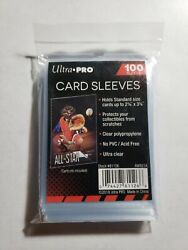 100 Ultra Pro Standard Size Sleeves - Sports - Trading -gaming Cards Sold Out