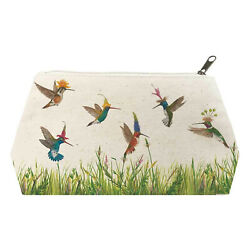 Paperproducts Design VICKI SAWYER Meadow Buzz Cotton Cosmetic Bag Large $14.95