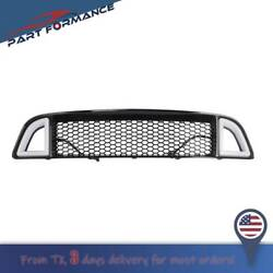 For 2013-2014 Ford Mustang Non-shelby Front Bumper Upper W/ White Led Grille