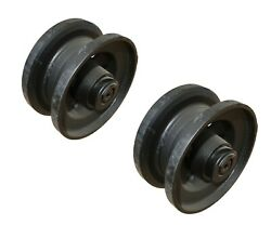 Set Of 2 Track Idler For Volvo Skid Steers - 16213436 - Fits Most Volvo Mct135