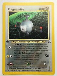 Magnemite 7/75 Neo Discovery 1st Edition - Holo Rare Pokemon Card