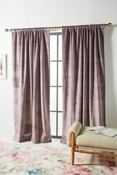 Custom Or Ready Made Drapes Velluto Antique Velvet In 10 Colors Made In The Usa