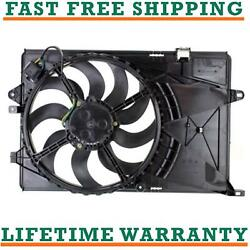 Radiator Condenser Fan For 12-19 Chevrolet Fits Sonic 1.4l 1.6l Free Shipping