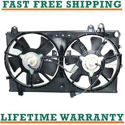 Radiator Condenser Fan For 04-08 Mazda Fits Rx-8 1.3l R2 Free Shipping