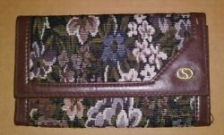 Chenson Flowers Wallet Billfold Multifunction Compartments Accessory  $9.99