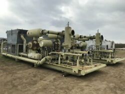 "400 HP Ariel Gas Compressor Model JGJ-2-1 Stage Size 15 14 x 15 14 x 3.5"" Stro"
