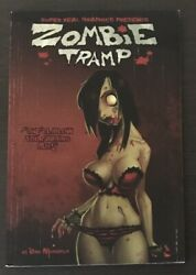 Zombie Tramp 2010 Tpb First Printing Super Real Graphics Collects 2009 1 2 3