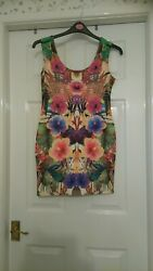 Multicoloured Dress By BooHoo Size 12