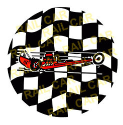 Muscle Bike Center Cap Graphic Fits Huffy-western Flyer-sears-murray Wheel Bikes