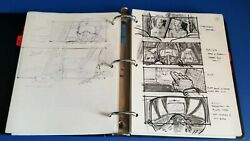 Executive Decision Original Storyboards Kurt Russell Halle Berry Seagal Action
