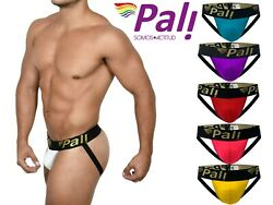 Pali Sexy Gay Men's Lingerie Jockstrap Stretch Open Rear Back Underwear Classic