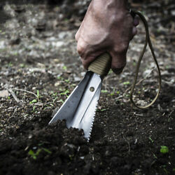 Shovel Garden Tool Spade With Sawtooth Knife Hex Wrench Digging Trowel Gardening