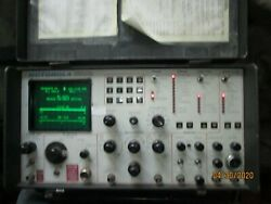 Motorola Model R-2001a/hs Communications Service Monitor Used Untested