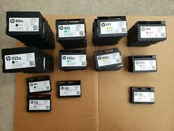 Lot 55 Used Empty Genuine Hp Ink Cartridges 932/932xl/933/93xl All Colors