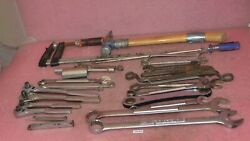 Vintage Mixed Tool Lot Mostly Made In Usa__craftsman Ratchets And Wrenches.