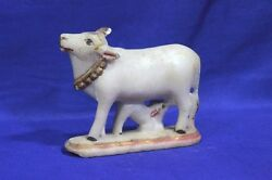 Marble Cow Figure Old Vintage Antique Rare Collectibles Ph-17