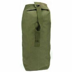 Military Canvas Duffle Bag - Heavy Duty - Top Load - Giant Cargo Bag - New