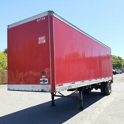 2004 Trailmobile 28' Pup Trailer With Liftgate