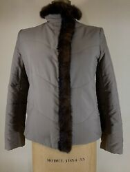 Loro Piana Women's Microfiber And Mink Jacket— New With Tags