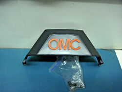 Omc 983979 Orange Letters Gimbal Cover Supersedes 985428 985087